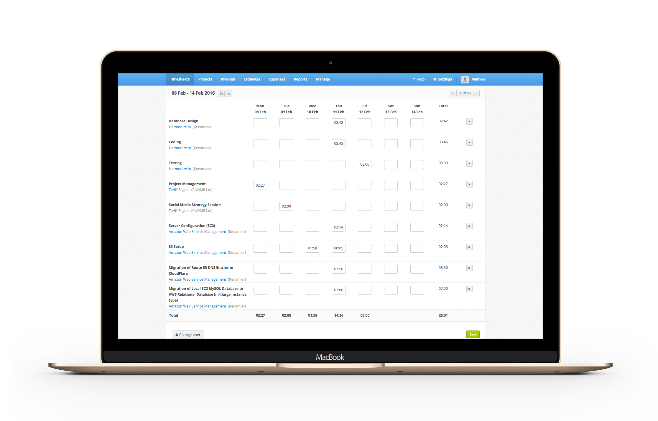 Online Time Tracking Software Invoicing App For Online Billing - Invoice tracking app
